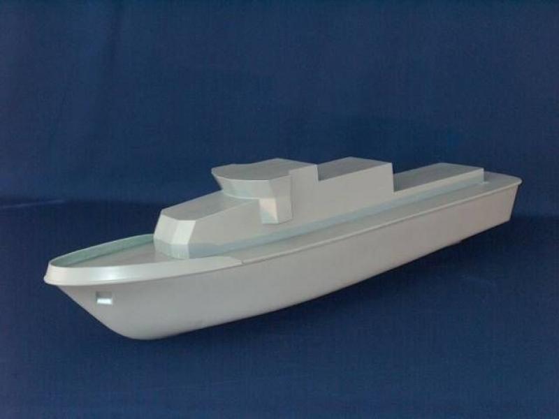 Hull for patrol boat FA 'EIDER' by Kvalitet Sport