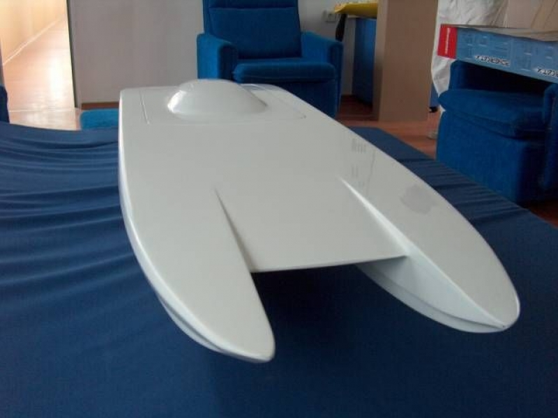 "Catamaran Hull - ""Miss Geico"" №53.00.00 by Kvalitet Sport"