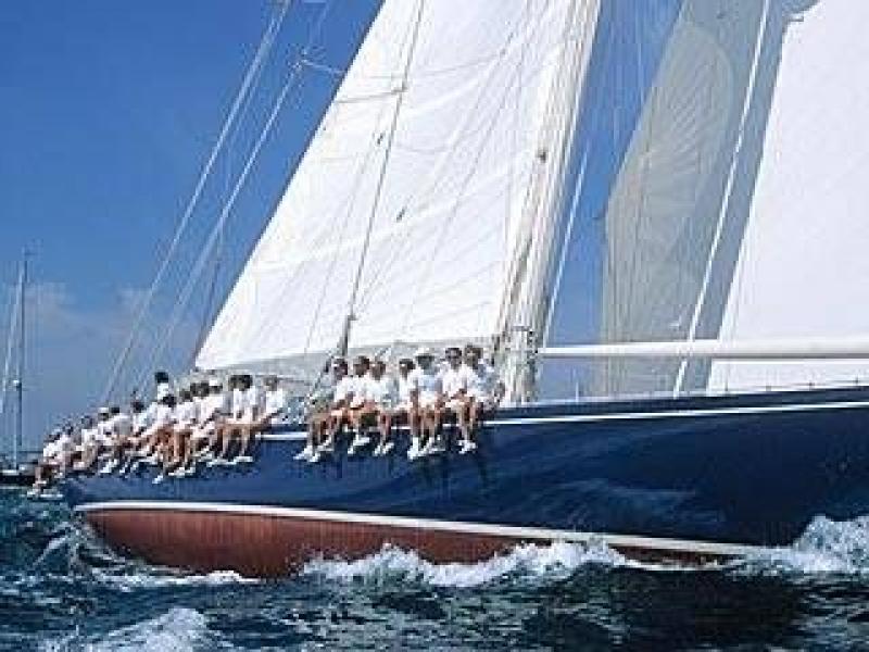 J class yacht by Kvalitet Sport